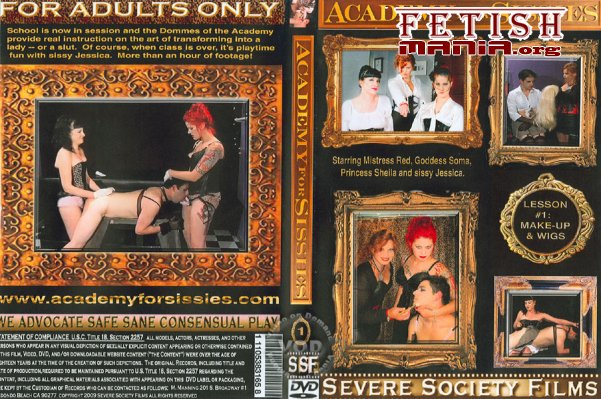 [Severe Society Films] Academy For Sissies - Lesson #1 Make-Up & Wigs (2010) [Transvestite]