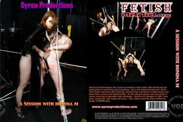 [Syren Productions] A Session With Domina M (2009) [Trampling]