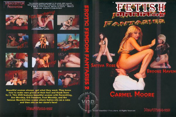 [Meanbitch Productions] Erotic Femdom Fantasies #2 (2007) [Brooke Haven]