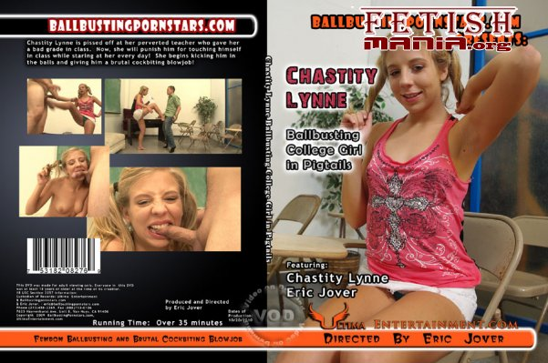 Chastity Lynne - Ballbusting College Girl In Pigtails