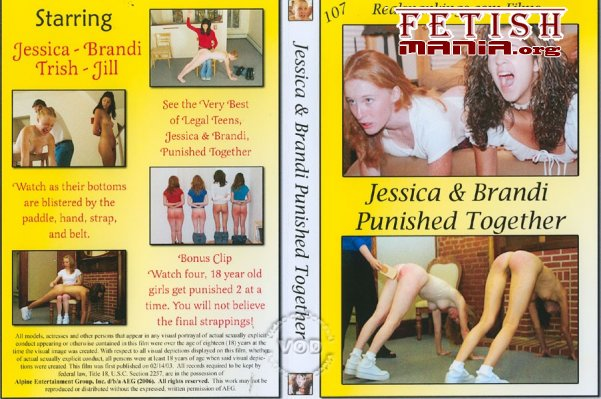 [RealSpankings Film] Jessica And Brandi Punished Together [Lesbian]