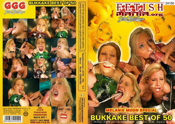 [GermanGooGirls] Best Of Bukkake #50 - Melanie Moon Special (2014)