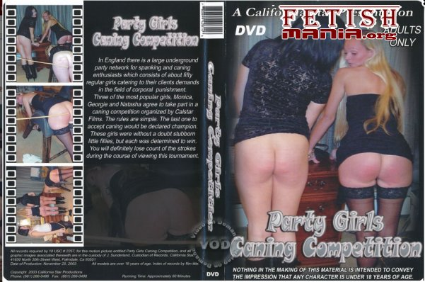 [A California Star Production] Party Girls Caning Competition (2004) [Georgie]