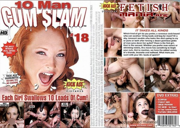 [Kick Ass Pictures] 10 Man Cum Slam #18 (2006) [Vixen Vogel] [Bonus Screenshots]