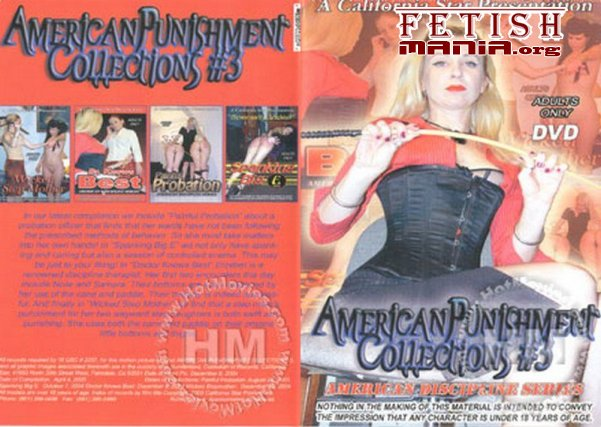 [California Star Productions] American Punishment Collections #3 (2010) [Caning]