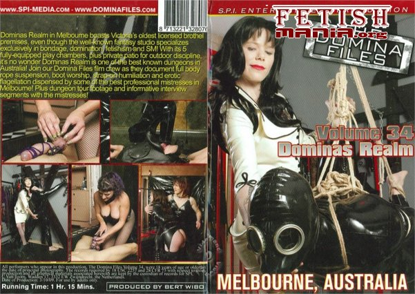 [SPI Media] The Domina Files Volume 34 - Dominas Realm - Melbourne, Australia (2010)