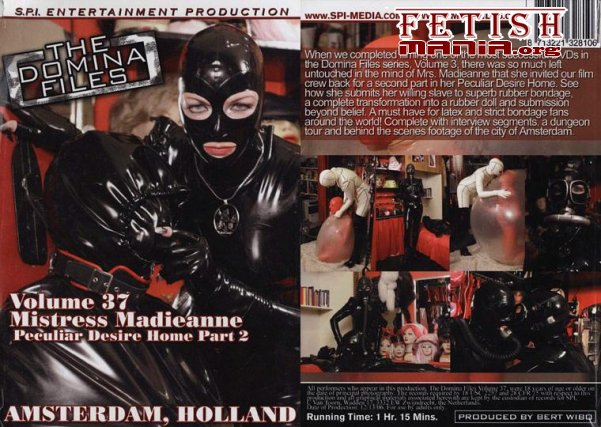 [SPI Media] The Domina Files Volume 37 – Mistress Madieanne - Amsterdam, Holland (2010)